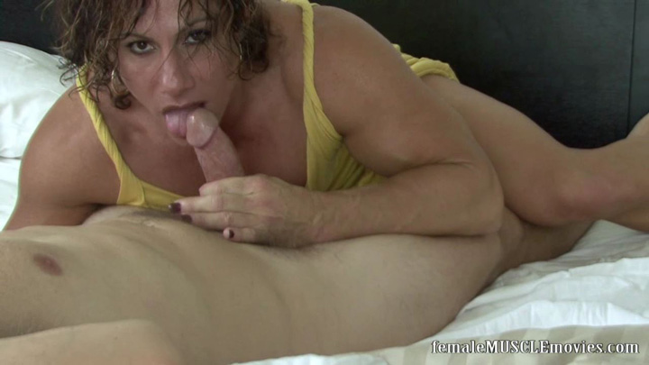 Hot muscle girl blowjob xxx juicy lips 9