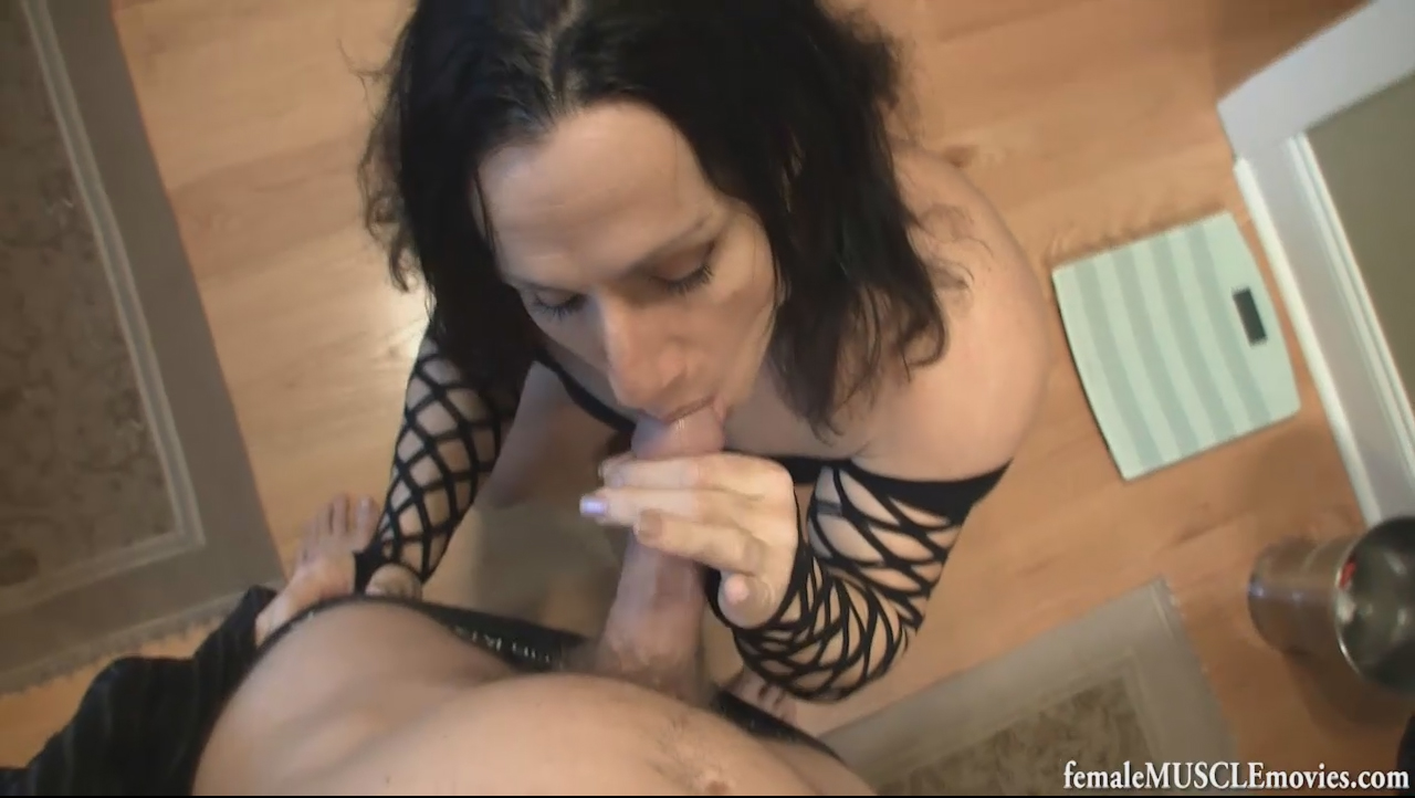 female muscle blowjob reality king porns