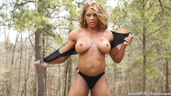 Bodybuilding women nude oiled confirm. happens